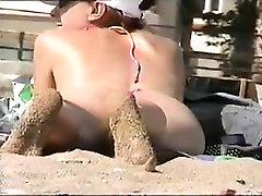 नग्न समुद्र तट voyeur फिल्म सेक्सी, महिला