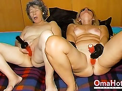 OmaHoteL Horny Granny Nun Tries soapy sho Sex With Toy