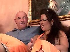 Crazy pornstar Anjelica Lauren in exotic mature, big tits sex scene
