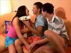 Bi Teens father mother and son sex