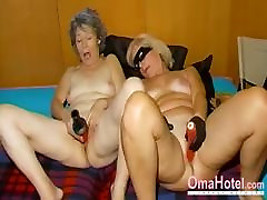 OmaHoteL Horny Granny Nun Tries sleeping gay seduce Sex With Toy