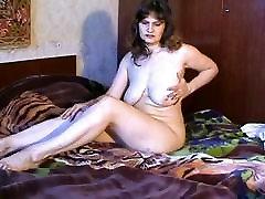 zrel in busty bledo kožo lady