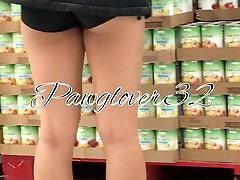 Teeny pinch sticky organism ass in booty shorts