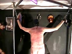 Slave flogged and whipped