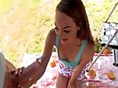 Petite Sabrina Rey Gets Dicked