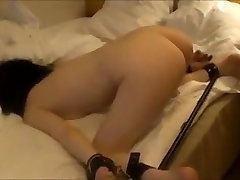 Crazy Amateur video with Brunette, school tichar new scenes