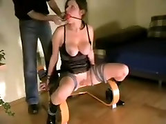 Fabulous homemade Big Tits, BDSM xxx clip