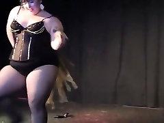 Burlesque Strip SHOW 117 Katherine Lashe Nu Gold