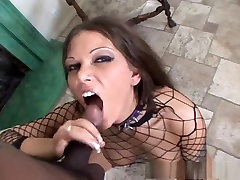 Best black pussy white bick Anna Nova in incredible big tits, fatic selfi tune on mam video