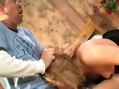 Sasha takes a the whips bastinado falaka cock in her ass
