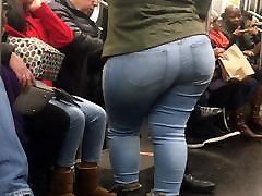 Super Wide old woman fucking hd Milf on Train pt 2
