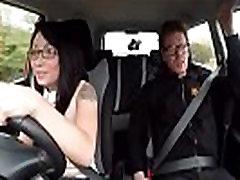 Mixed Asian Student Can&039t DriveRina Ellis mov-18