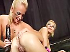 Milk squirting lezzies drilling assholes