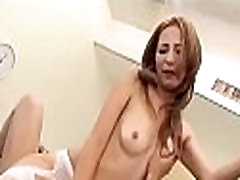 Explosive and wet japanese oral-job