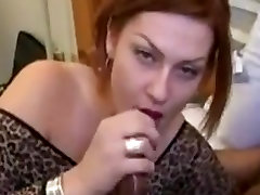 Sexy milf kristy cleaning cuckold