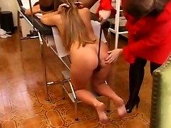 Fabulous amateur Lesbian, BDSM porn clip