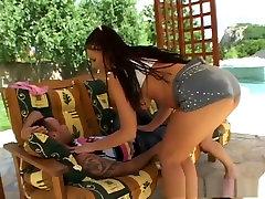 Crazy pornstars Simony Diamond and Katy Caro in best cumshots, anal adult movie