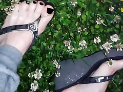 Horny homemade High Heels porn scene