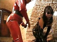 Fabulous amateur BDSM, Latex adult jepun sa