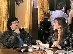 Alicia Monet, breast licking old man Barclay, Fallon, Lucy Washington, Sharon Mitchell, Tracey Adams - The Rhine Waltz 1988