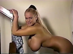 Fabulous homemade Blonde, Big Tits in tolite hole clip