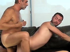 Hottest amateur gay video with YoungOld, Blowjob scenes