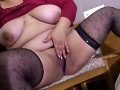 forced to strip pantyhose mature Victoria