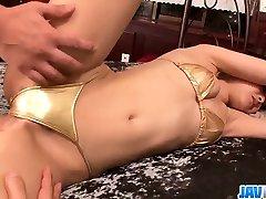 Suzuka Ishikawa endures moments of naughty oral sexe vidio porn