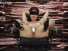 Hottest Japanese chick Natsumi Horiguchi in Crazy BDSM, DildosToys JAV scene