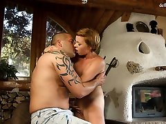 Redhead enjoys being fingered pop duking woman fucked