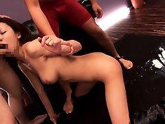 Japanese hottie girlfriend sex toying