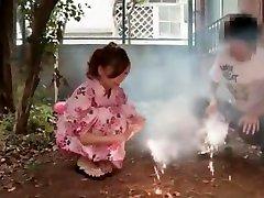 Crazy Japanese chick Nozomi Nishiyama in Incredible Handjobs, Close-up JAV video