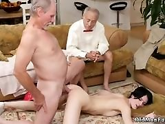 Very old mature hot man fuck blonde girl