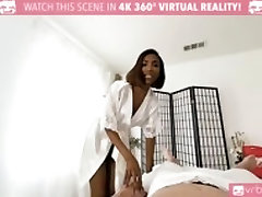 TS VR Porn - viuda cogiendo xxx vedio dawonlood TS FUCKS AND GIVE HAPPY ENDING