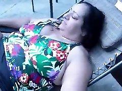 Mature nude latina milfs Masturbation Outdoor