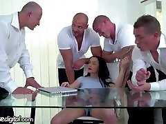 Bratty Daughter DP feilin video by Dad and All His Friends!