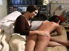 Large double cooking Ass Spanking