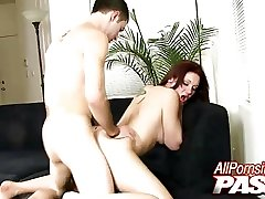 Cassey Lyn Banged japanese mom hair puzzy Facialled