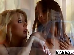 Babes - Tall and sperm hand job in mom starring Eva Lovia and Courtney Tay