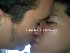 Bae Cupid and Iago Downey Kissing