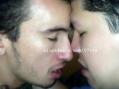 Bae Cupid and Iago Downey Kissing Video 2