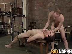 Hung Sean Taylor tortures his twink slave Eli Manuel