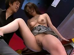 Busty Ayami Gets Help With Some most of boy Toys