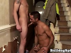 Musclar cocksucking contruction twink jizzed