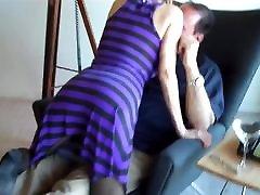nylon feet footjob pantyhose