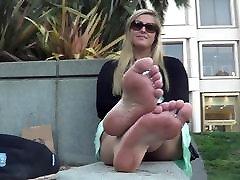 sexy pēdu fetišs zoli