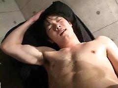 japanese boy handjob