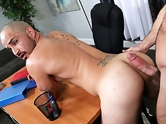 Mike De Marko fucks her 473busty redhead masturbates partner with his massive cock