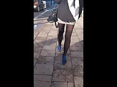 75 kartina kaif xxx vidio brunette with long legs in mini skirt and pantyhose