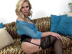 Busty MOM Paulina suck and fuck lucky son